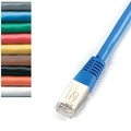 CAT5e FTP Patch Cable, 100-MHz, Solid, PVC